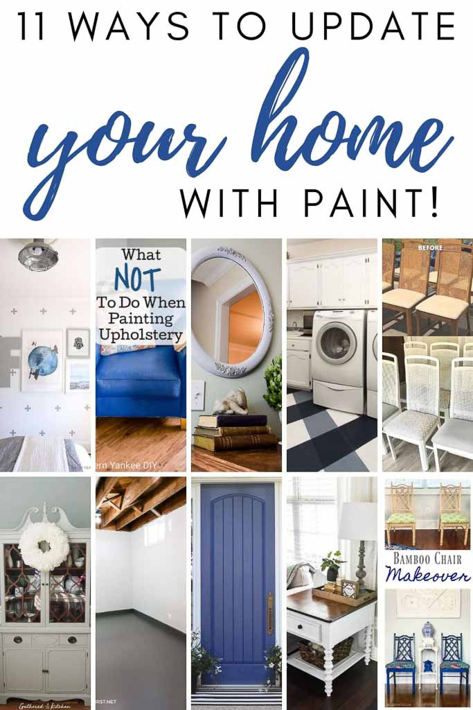 11 Easy Ways to Update Your Home with Paint