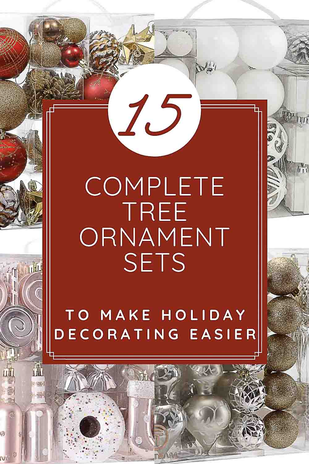 15 Decorating Kits for Christmas Trees to Make Your Holiday Easier