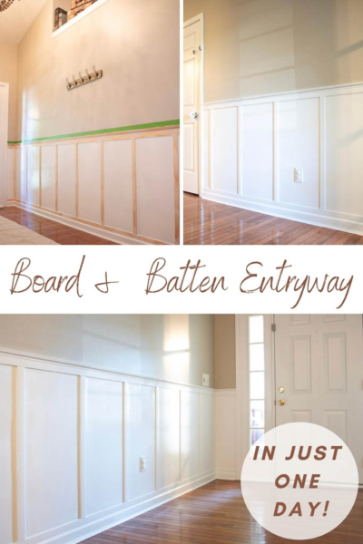Here's an Easy Inexpensive Way To Transform a Room With Trim