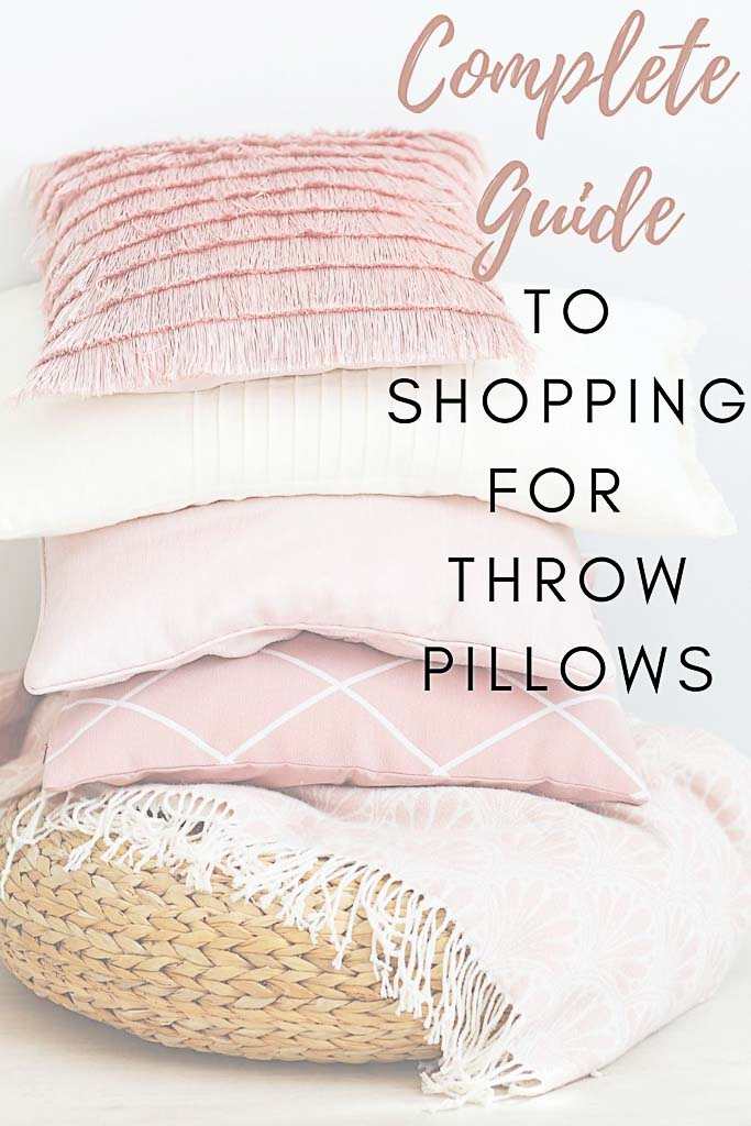 What You Need to Know About Shopping For Perfect Throw Pillows