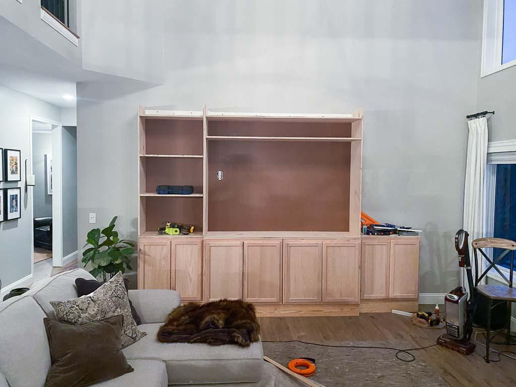 DIY Built-in Media Center
