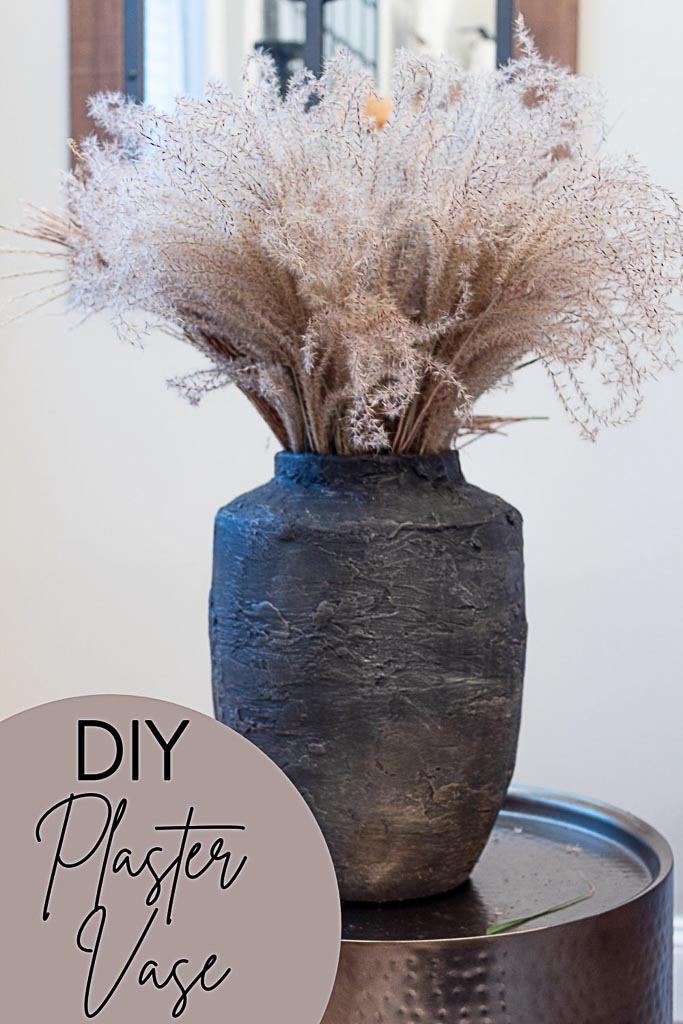 DIY Plaster Vase + Tips for Working With Plaster of Paris
