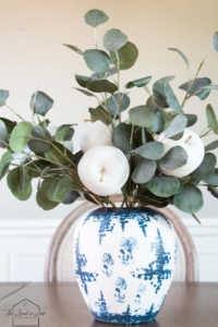 faux apple centerpiece