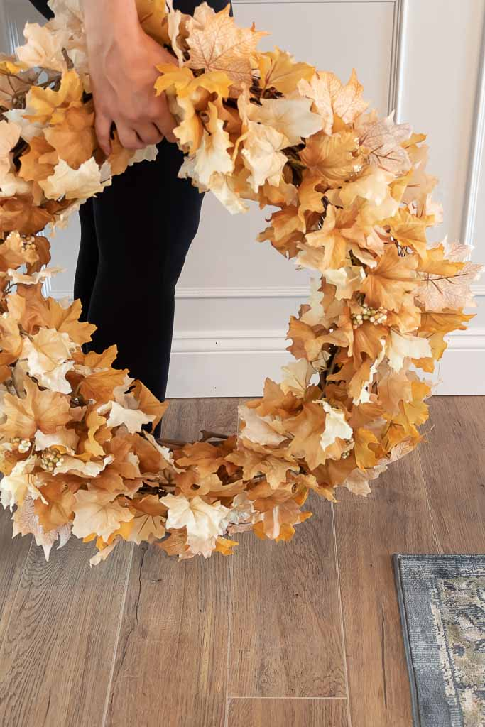 An Easy Fall Wreath To Make For Autumn
