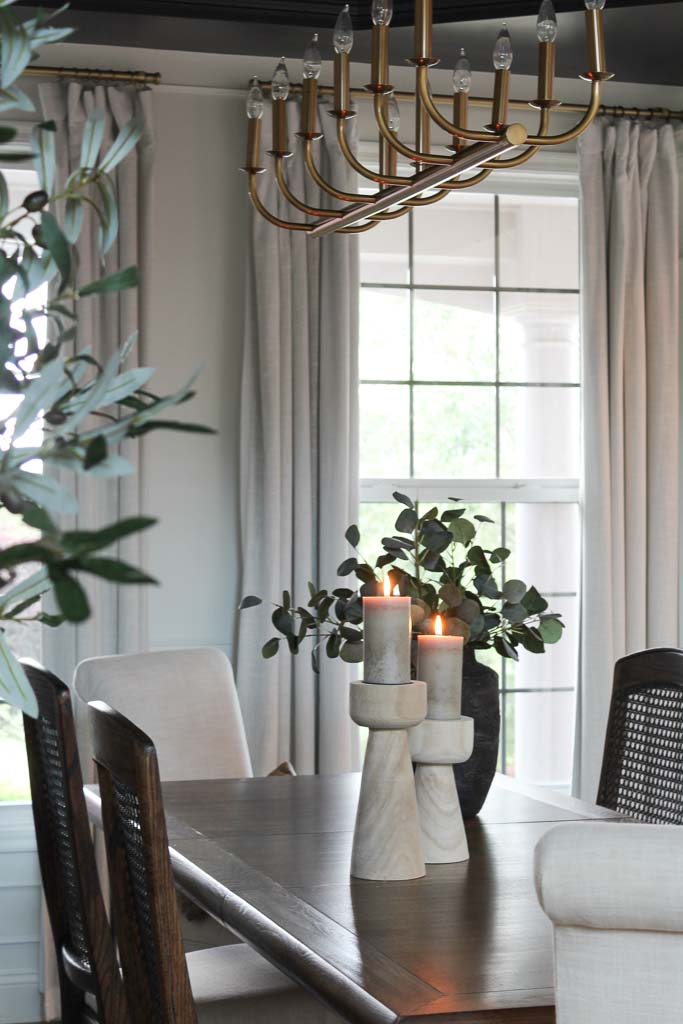 Neutral Dining Room Reveal : One Room Challenge Spring 2021