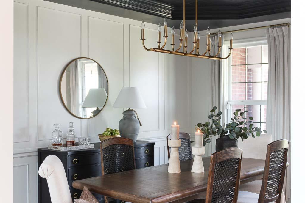 Neutral Dining Room
