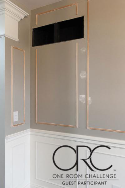 Easy DIY Picture Frame Molding – One Room Challenge Spring 2021 Week 2