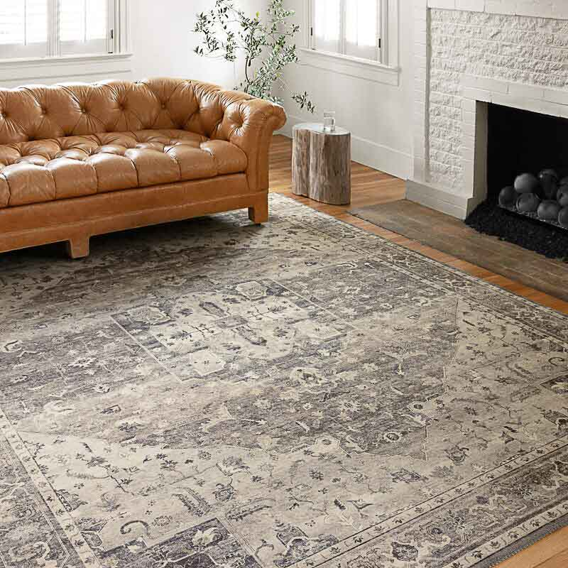 affordable vintage rug