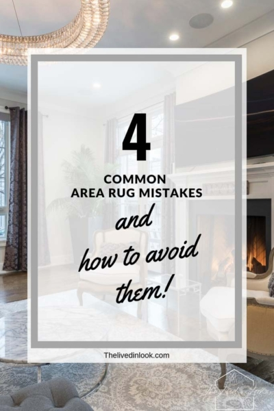 4 Common Area Rug Mistakes and How to Avoid Them