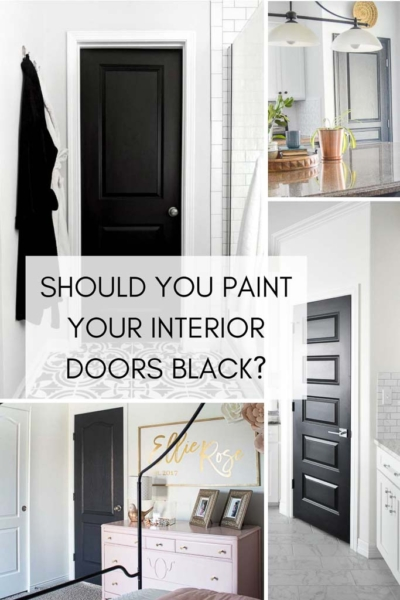 5 Reasons to love Black Interior Doors Now