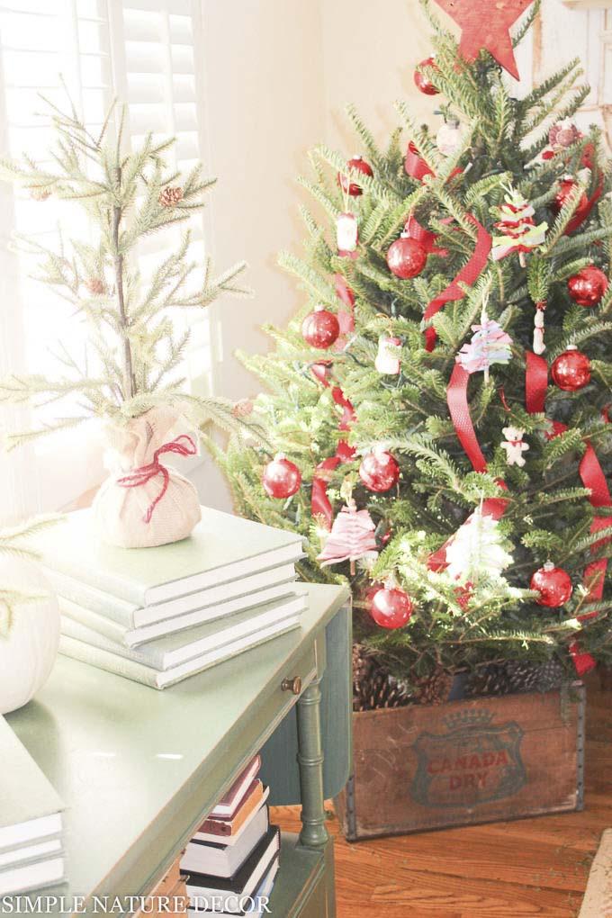 christmas tree ribbon decoration ideas (15)