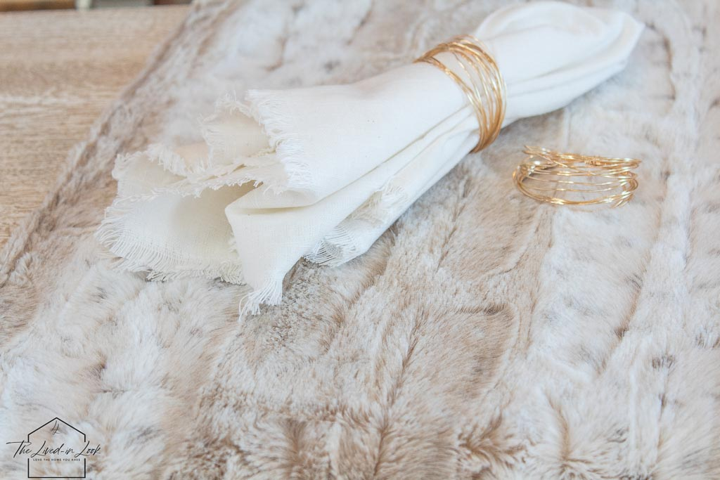 How to Make Beautiful Wire Napkin Rings in 3 Easy Steps