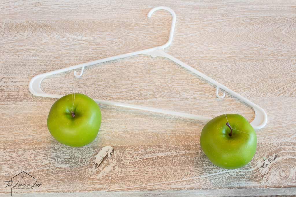 faux apple centerpiece
