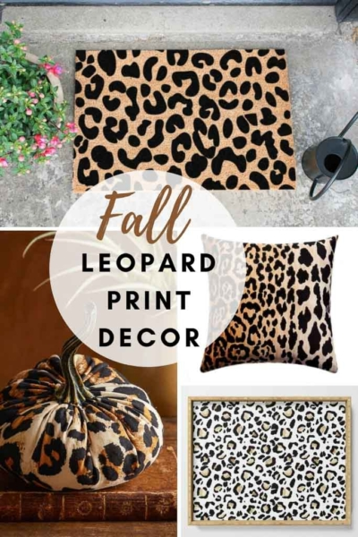 Loveliest Leopard Looks For a Fall Home