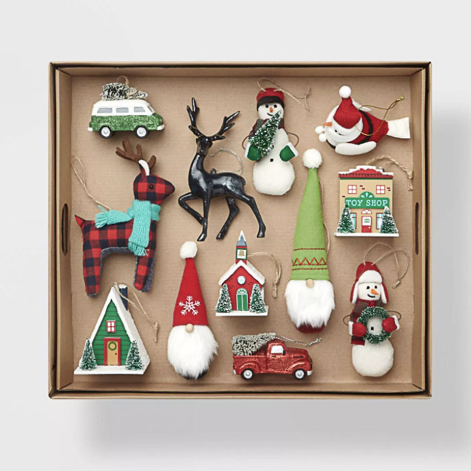 decorating kits for Christmas trees