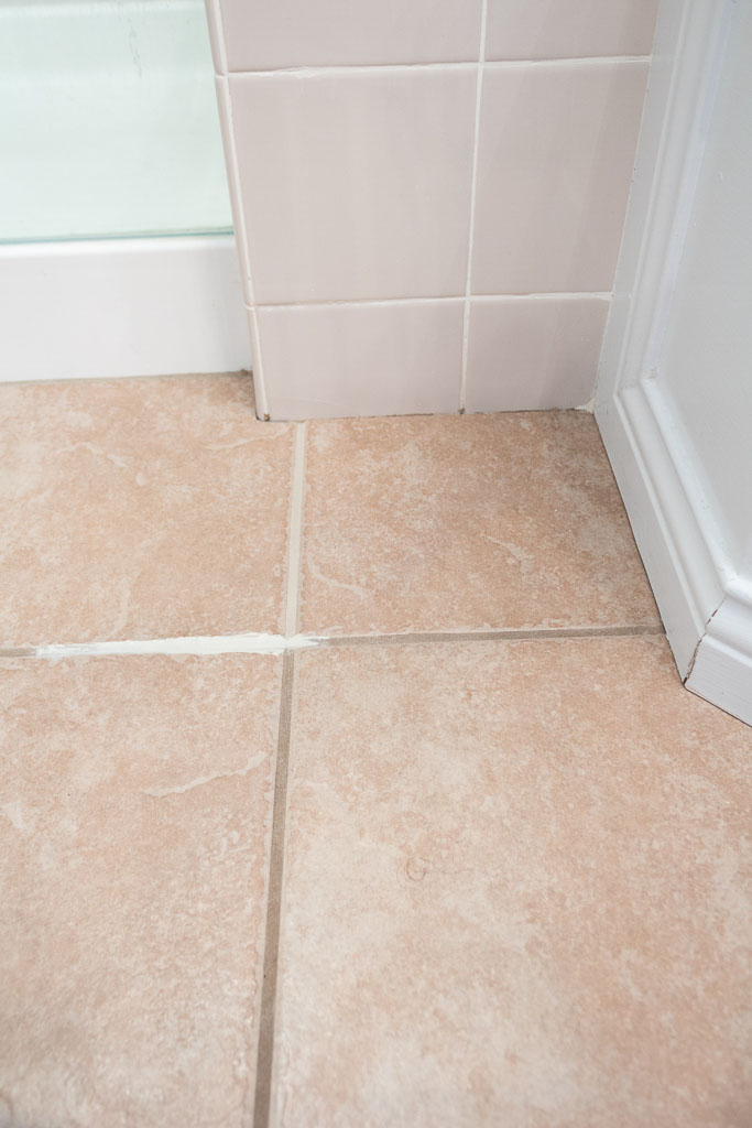 grout paint before and after