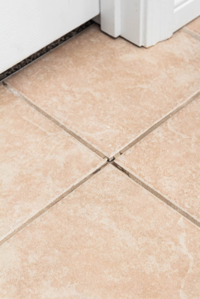 How To Repair Ed Tile Grout An