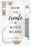 How to use a mood board to decorate your home