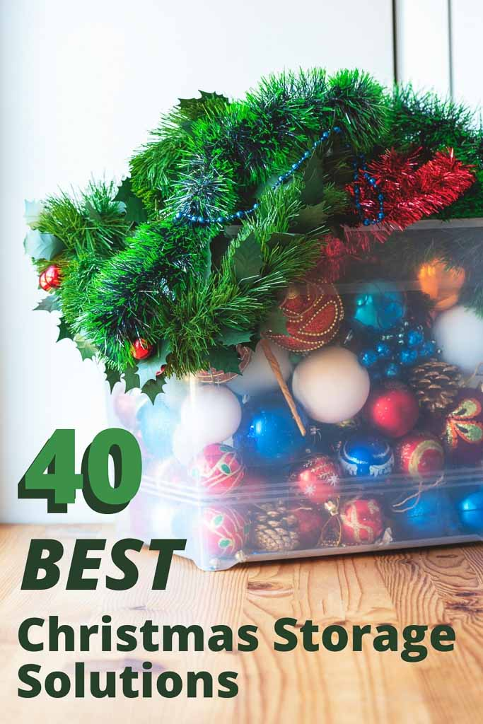 40 Best Christmas Storage Solutions for Your Holiday Décor
