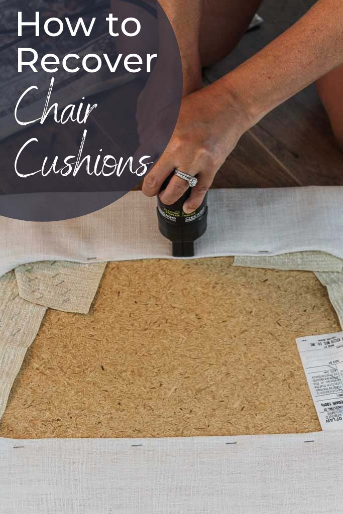 How to Recover Chair Cushions the Easy Way