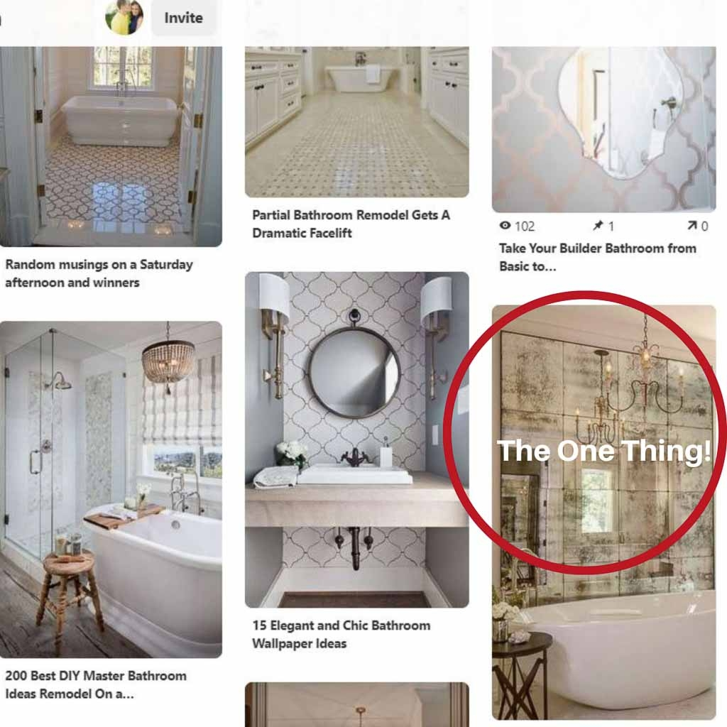 how to use pinterest to design a room
