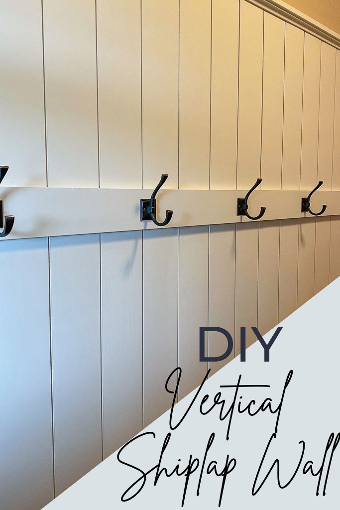How to Install a Vertical Shiplap Wall
