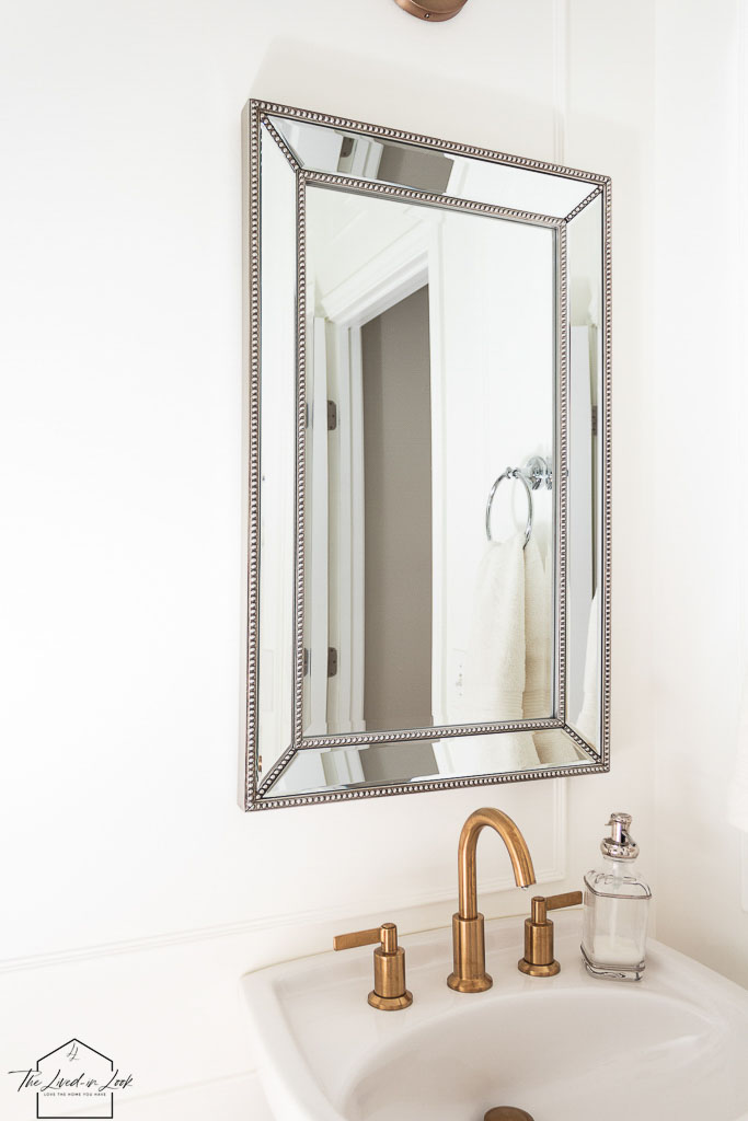how to mix metals in a bathroom