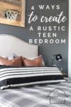 rustic teen boy room