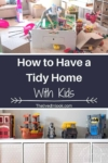 tidy home with kids