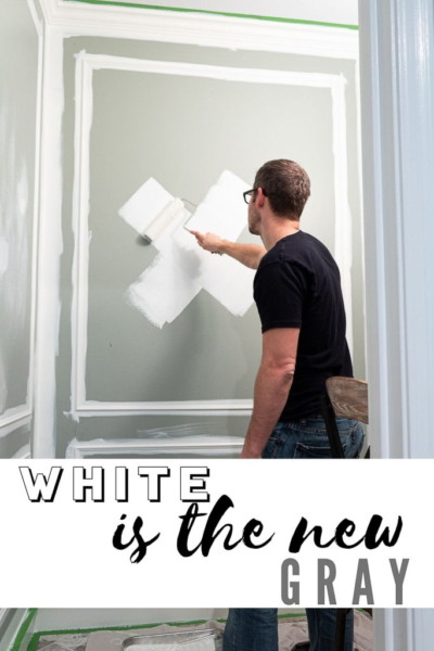 Why I'm over the Gray Paint Trend and 8 White Paint Colors I'm Currently Crushing On